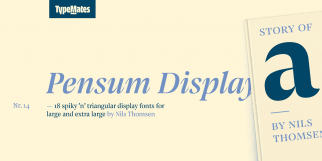 Pensum Display (TypeMates)