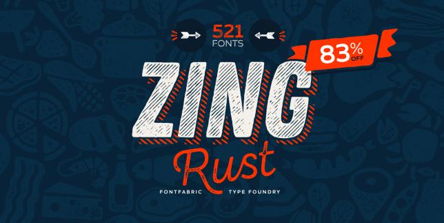 Zing Rust (Fontfabric)