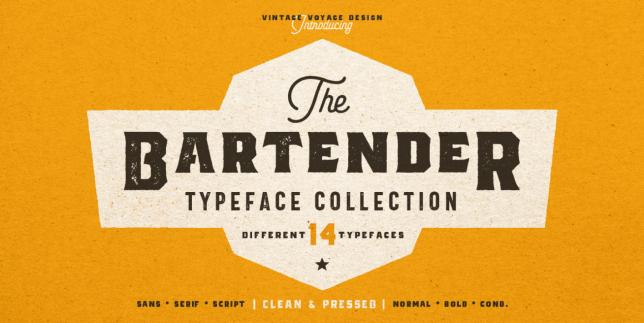 The Bartender (Vintage Voyage)