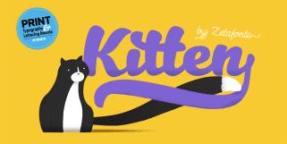Kitten (Zetafonts)