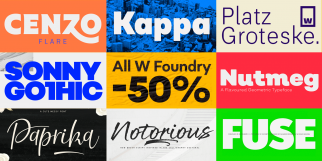 W Foundry - 50% off all fonts