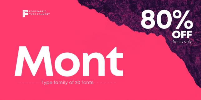 Mont (Fontfabric)