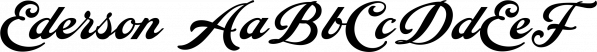 Ederson font family by Måns Grebäck