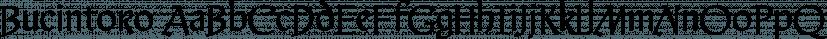Bucintoro font family by Three Islands Press