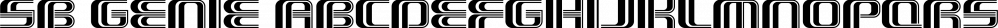 SB Genie font family by SelfBuild Type Foundry
