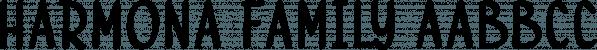 Harmona Family font family by Locomotype