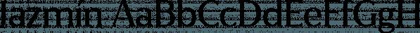 Jazmín font family by Latinotype