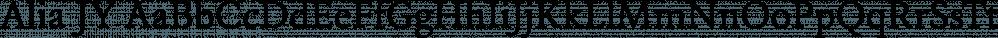 Alia JY font family by JY&A Fonts