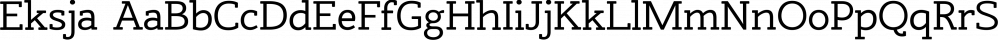 Eksja font family by Protimient