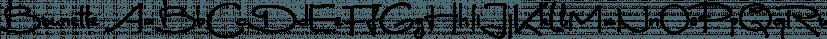 Brunette font family by DearType