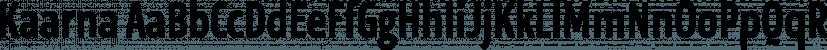 Kaarna font family by LetterMaker