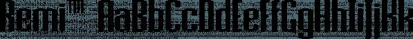 Remi™ font family by MINDCANDY