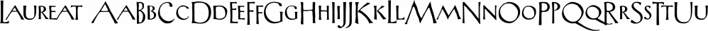 Laureat font family by CastleType