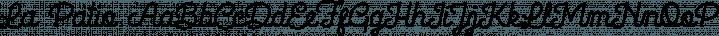 La Patio font family by Nasir Udin