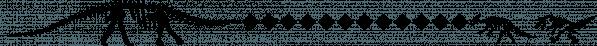 Matt's Dinosaur Stencils font family by Ingrimayne Type