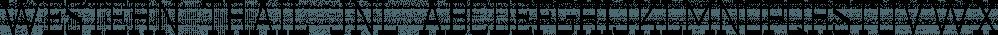 Western Trail JNL font family by Jeff Levine Fonts