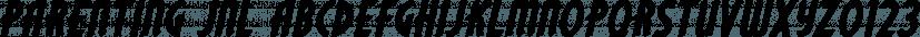 Parenting JNL font family by Jeff Levine Fonts