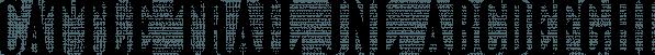 Cattle Trail JNL font family by Jeff Levine Fonts