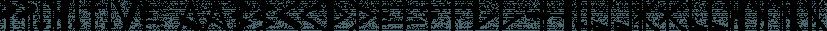 PRIMITIVE font family by JAF 34