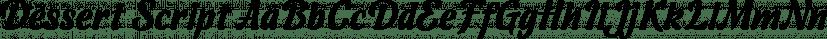 Dessert Script font family by ParaType
