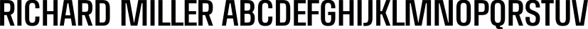 RICHARD MILLER font family by Miller Type Foundry