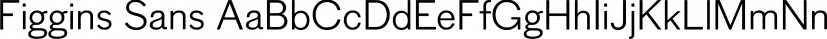 Figgins Sans font family by Shinntype
