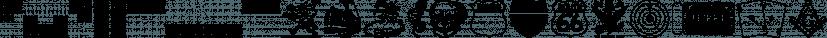 Letterpress Leftovers JNL font family by Jeff Levine Fonts