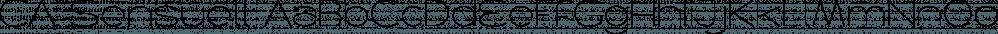 CA Sensuell font family by Cape Arcona Type Foundry
