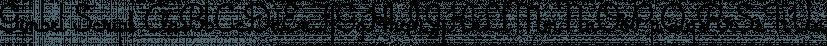 Gimbel Script font family by Stiggy & Sands