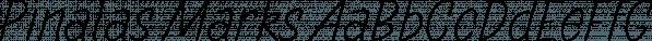 Pinatas Marks font family by Piñata