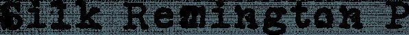 Silk Remington PRO font family by Jadugar Design Studio