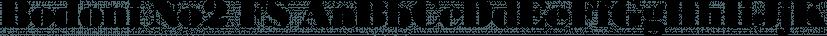 Bodoni No2 FS font family by FontSite Inc.