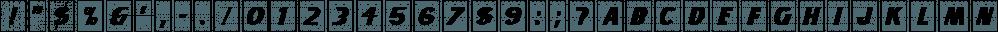 Art Student JNL font family by Jeff Levine Fonts