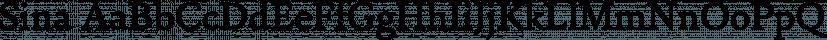Sina font family by Hoftype