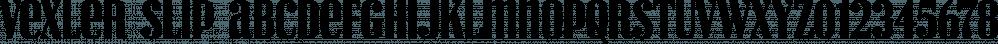Vexler Slip font family by Typodermic Fonts Inc.