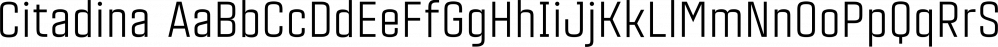 Citadina font family by Graviton
