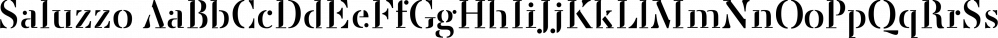 Saluzzo font family by Wilton Foundry