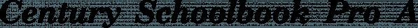 Century Schoolbook Pro font family by SoftMaker
