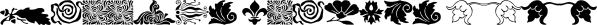 Collins Florets font family by Wiescher-Design