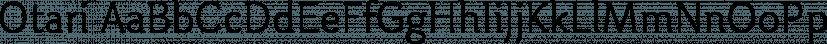 Otari font family by TK TYPE