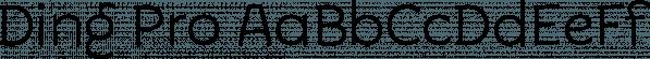 Ding Pro font family by Rodrigo Typo