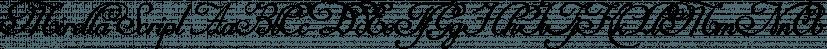 Mirella Script font family by Intellecta Design