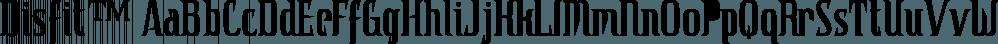 Disfit™ font family by MINDCANDY