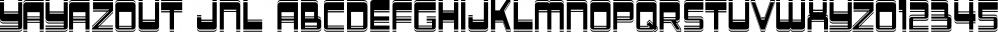Yayazout JNL font family by Jeff Levine Fonts
