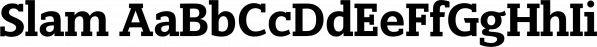 Slam font family by Wiescher-Design