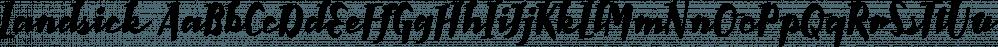 Landsick font family by Tour de Force Font Foundry