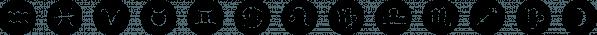 Starsigns font family by Tarallo Design