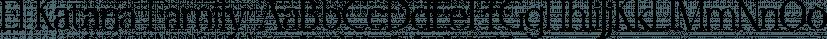 El Katana Family font family by madeDeduk