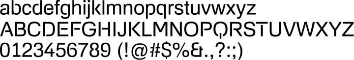 Foobar Pro Font Specimen