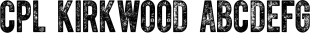 CPL Kirkwood font family mini